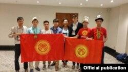 Сборная Кыргызстана на Международной математической олимпиаде.