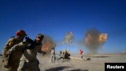 Борби во близина на воениот аеродром Тал Афар западно од Мосул, Ирак, ноември 2016 година