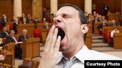 Беларус парламентиндеги уйкулуу депутаттар. (иллюстрация)