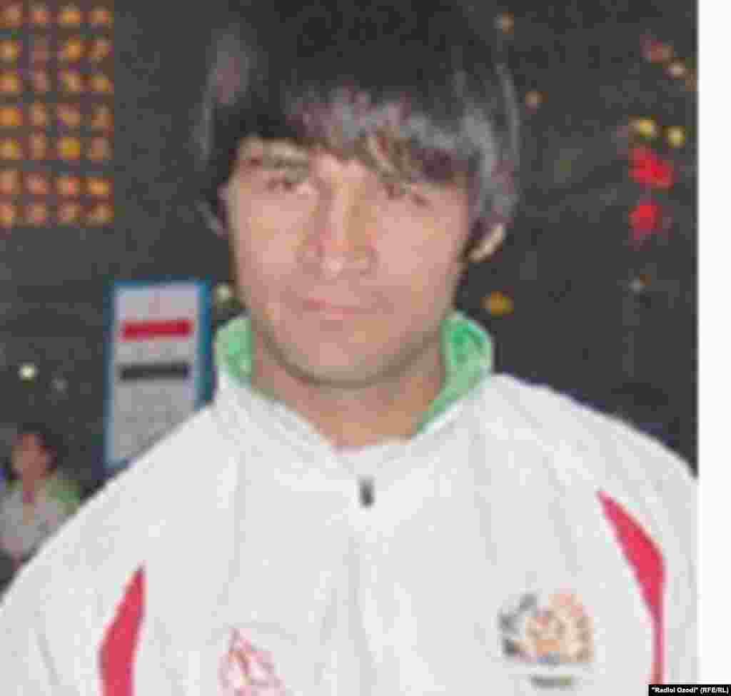 Tajikistan,Dushanbe city,Tajik sportman Jahon Qurbonov,21Dec2010