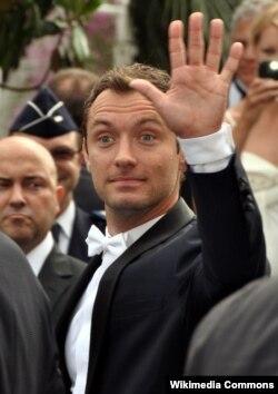 Jude Law Kann kinofilm festiwalynda