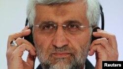 Саид Джалили, главный переговорщик Ирана. Алматы, 27 февраля 2013 года.
