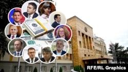 Колаж имот на нови пратеници
