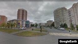 Перекресток улиц Джаудата Файзи и Хайдара Бигичева