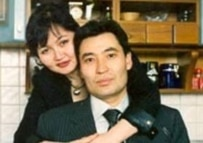 Ghalymzhan Zhaqiyanov and his wife Karlygach (file photo)