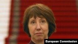 Верховный представитель по иностранным делам и политике безопасности Европейского союза Кэтрин Эштон.