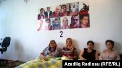 Участники голодовки, Баку, 16 мая 2012