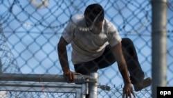 Ýewropa geçmekçi bolýan migrant