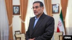 علی شمخانی، دبیر شورا عالی امنیت ملی ایران.