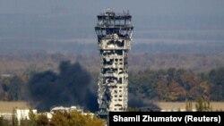 Вежа Донецького аеропорту, жовтень 2014 року