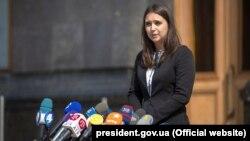 Ուկրաինայի նախագահի խոսնակ Յուլիա Մենդել, արխիվ