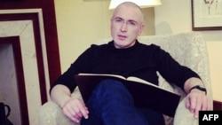 Поранешниот руски нафтен магнат Михаил Ходорковски.