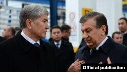 В декабре 2016 года президенты Узбекистана и Кыргызстана Шавкат Мирзияев (справа) и Алмазбек Атамбаев посетили предприятие «Man Auto-Uzbekistan» в Самарканде.