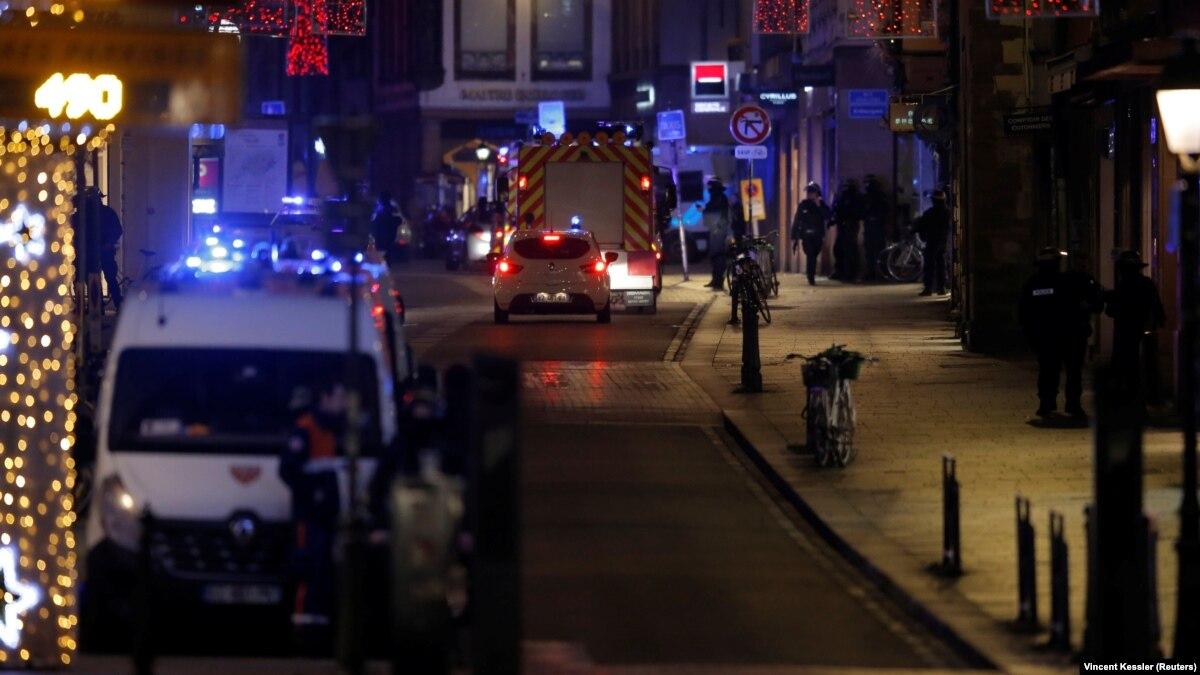 Стрельба в Страсбурге: 2 человека погибли, 11 ранены