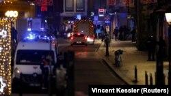 Поліцейські в центрі Страсбурга, де стався напад