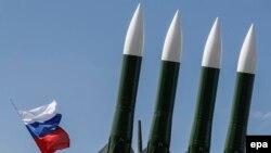 Rachete Buk-M23 cu rază medie de acţiune la un show aviatic din Jukovski, de lângă Moscova. 18 iulie 2017