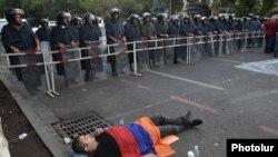 Yerevanda aksiya - 26 iyun 2015.