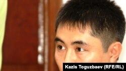 "Продюсер видеопортала ""Стан.кз"" Данеш Байболатов. Алматы, 20 сентября 2011 года."