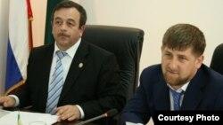Нурди Нухажиев и Рамзан Кадыров