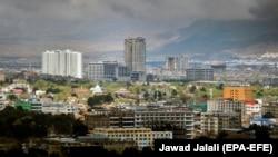 تصویری از شهر کابل