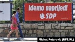 Predizborni plakati SDP-a BiH
