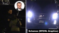 Журналісти помітили там ще одного депутата Київської облради від «Слуги народу» Романа Буковського