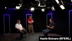 Vasile Botnaru, Vitalie Călugăreanu și Dumitru Ciorici