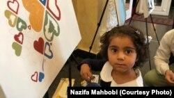 اشتراک یک کودک در نشست نماینده گان جامعۀ مدنی و نهادهای رسانهای در کابل
