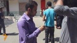 Активистлар Таһрир мәйданында иминлекне үзләре саклый