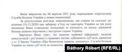 Az ukrán titkosszolgálat megerősítette lapunknak, hogy Tilki Attilát még 2020. december 10-én három évre kitiltották Ukrajna területéről.