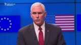 Pence Reaffirms U.S. Support For EU Allies