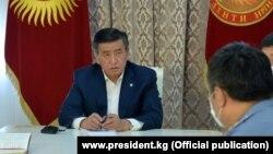 Gyrgyzystanyň prezidenti Sooronbaý Jeenbekow
