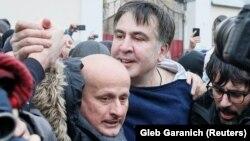 Міхеїл Саакашвілі. Київ, 5 грудня 2017 року