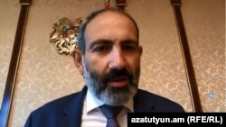Премьер-министр Армении Никол Пашинян, 17 мая 2018 г.