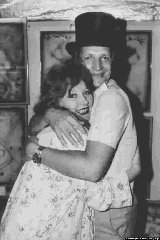 Алла Пугачева и Евгений Болдин, 1981 год