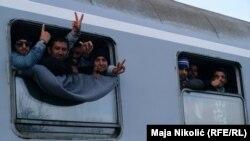 Хорватияга келген мигранттар