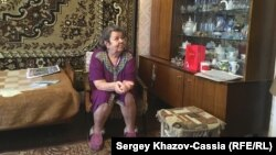 Tatyana Bogdanova lives in the remote village of Vegarus and says she spends much of her time just watching TV, although even that is often not possible due to regular power outages.