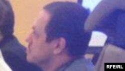 Обвиняемый в покушении на узбекского имама Юрий Жуковский в суде. Эстерсунд, 15 декабря 2015 года.