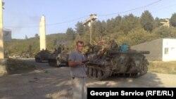 Руски тенкови во Грузија, 15.08.2008
