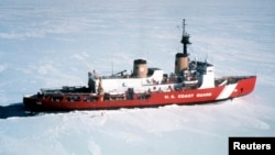 The U.S. Coast Guard's heavy icebreaker Polar Star in an undated photograph