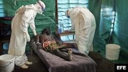 Хворы на эболу гвінеец, чэрвень 2014-га