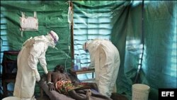 یکی از مبتلایان به ابولا در گینه