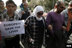 Греция: демонстрация у представительства ЕС с требованием защитить жизни мигрантов