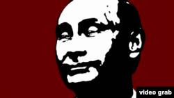 Путин -- ББС филм гойтуш экранан даьккхина сурт (скриншот). (BBC film screenshot)