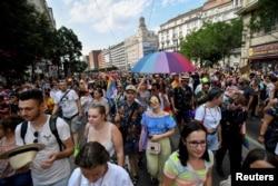 Budapest Pride, 24 iulie 2021.