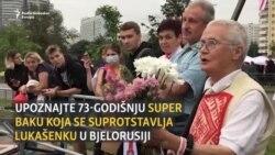 Sa 73 godine u otporu Lukašenku
