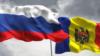 Drapelele rus și moldovenesc