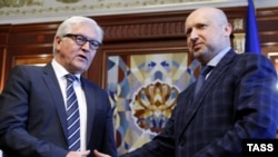 Frank Valter Štajmajer i Oleksander Turčinov