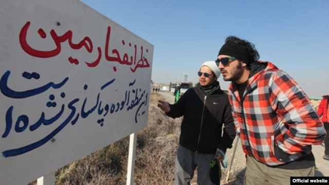 نمایی از فیلم معراجیها، فیلم تازه مسعود دهنمکی