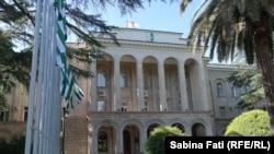 Abhazia, Georgia 2016: Palatul sediu al guvernului și președinției actuale, Suhumi